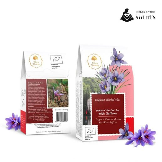 Breeze of the East Tea with Saffron Organic
