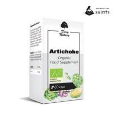 Artichoke 60 Capsules - Dietary Organic Herbal Supplement