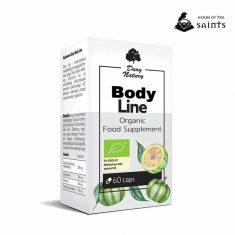 Body Line 60 Capsules - Dietary Organic Herbal Supplement