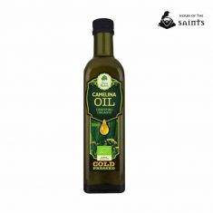 Camelina Organic Oil, 100% Pure, Cold Pressed, Certified