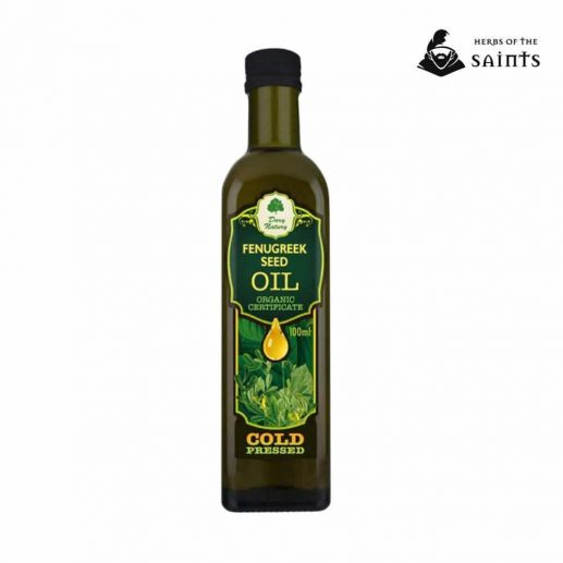 Fenugreek oil 100ml bottle