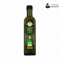 Linseed Oil, 100% Pure Organic, Cold Pressed, Certified