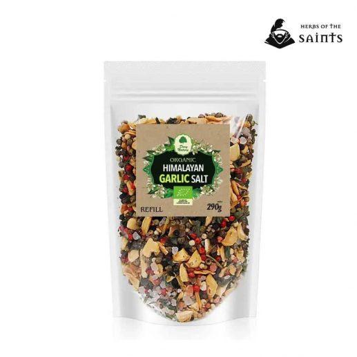 Organic Himalayan Garlic Salt Refill