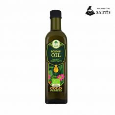 Rosehip Organic Oil, 100% Pure, Cold Pressed, Certified